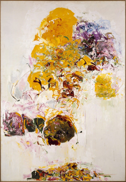 """Sunflower""by Joan Mitchell"