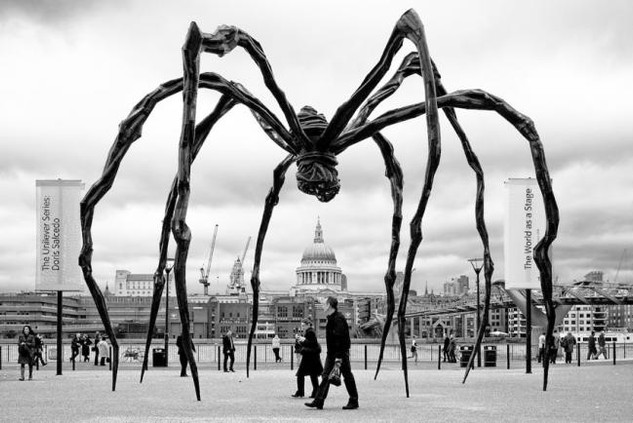 """Maman"" by Louise Bourgeois 1999"
