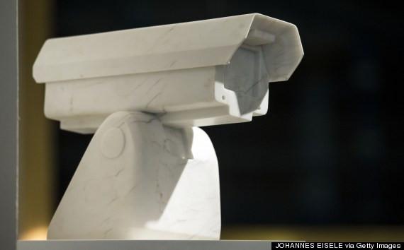 """surveillance camera"" by Ai Wei Wei"