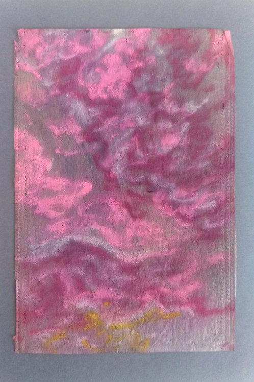 squiggly clouds in pink