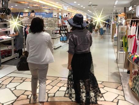 ショッピング同行してきました