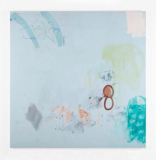Misty morning, acrylique et pastel sur canevas, 2008 Non disponible