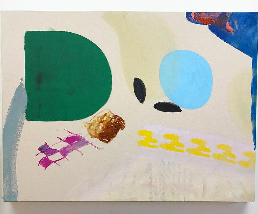 Évidences, acrylique sur canevas, 2020