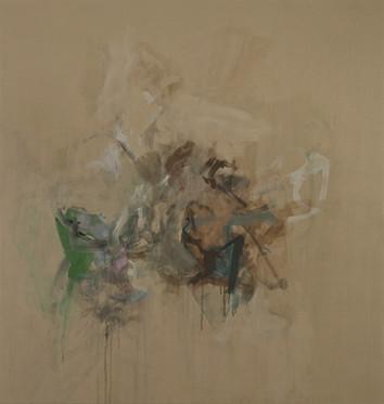 Sans titre 6, acrylique sur canevas, 2009 Non disponible