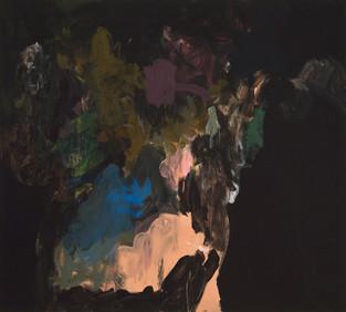 Sans titre 22, acrylique sur canevas, 2011