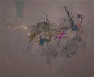 Sans titre 1, acrylique sur canevas, 2009 Collection Prêt d'oeuvres d'art du Musée national des beaux-arts du Québec