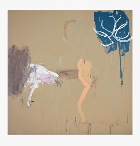 Feutré 1, acrylique sur canevas, 2008 Non disponible