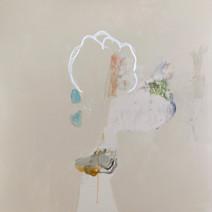 Fantasque 1, acrylique et pastel sur canevas, 2009 Non disponible