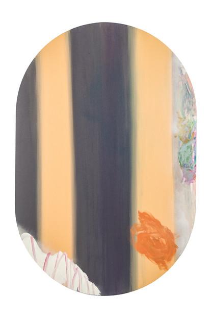 Franges, acrylique sur canevas, 2013