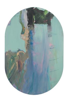 Remous, acrylique sur canevas, 2013