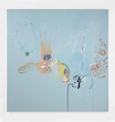 Rose conclusion, acrylique sur canevas, 2008, Non disponible