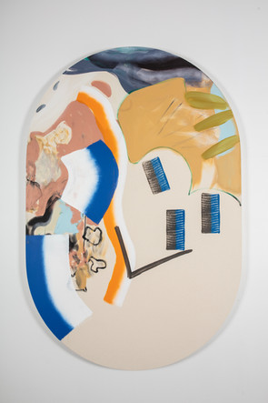 Assemblage 9, 183x122 cm, 2018
