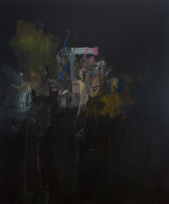 Sans titre 4, acrylique sur canevas, 2009 Non disponible