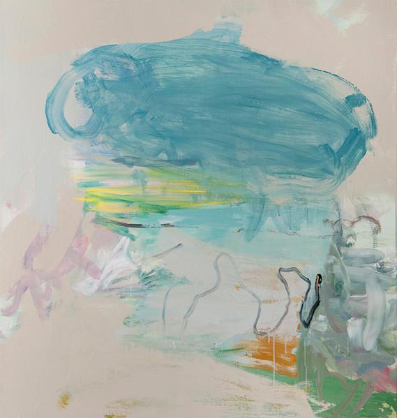 Sans titre 33, acrylique sur canevas 2011 Non disponible