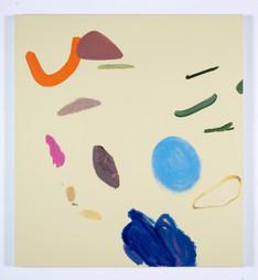 Distracteurs de couleurs ( Dessin 4 ) 42x38po, acrylique sur canevas, 2020, Non disponible