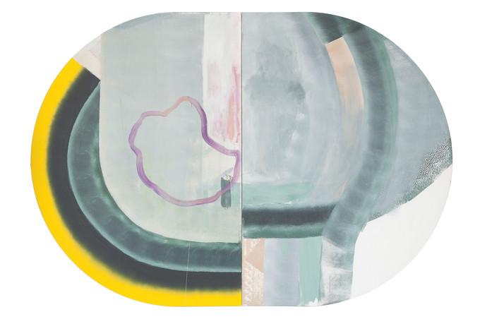 Volte-face, acrylique sur canevas, 2013