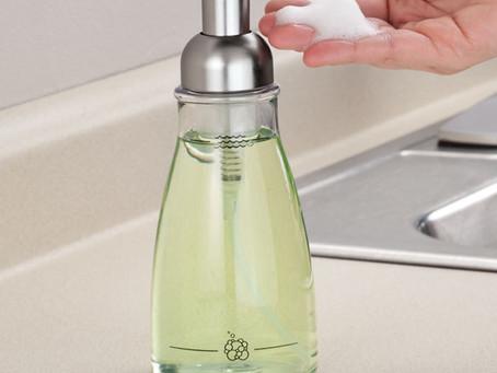 DIY Healthy Foaming Hand Soap
