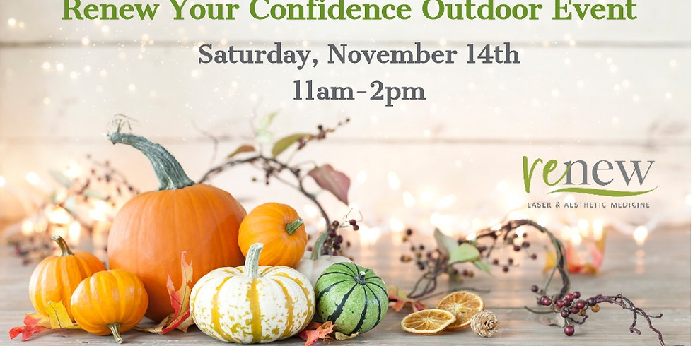 Renew Your Confidence Outdoor Event