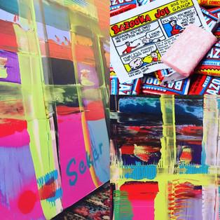 Bazooka Joe (2016) - concept behind the painting