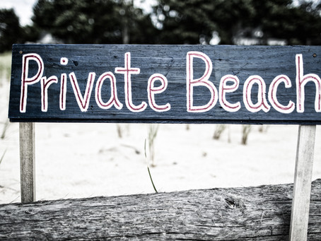 What is Customary Use and Where Can I Access the Beach?