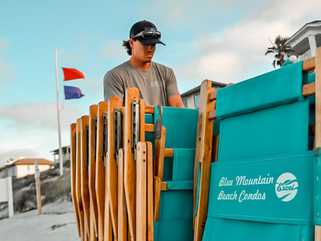 How to Rent Beach Chairs in Blue Mountain Beach
