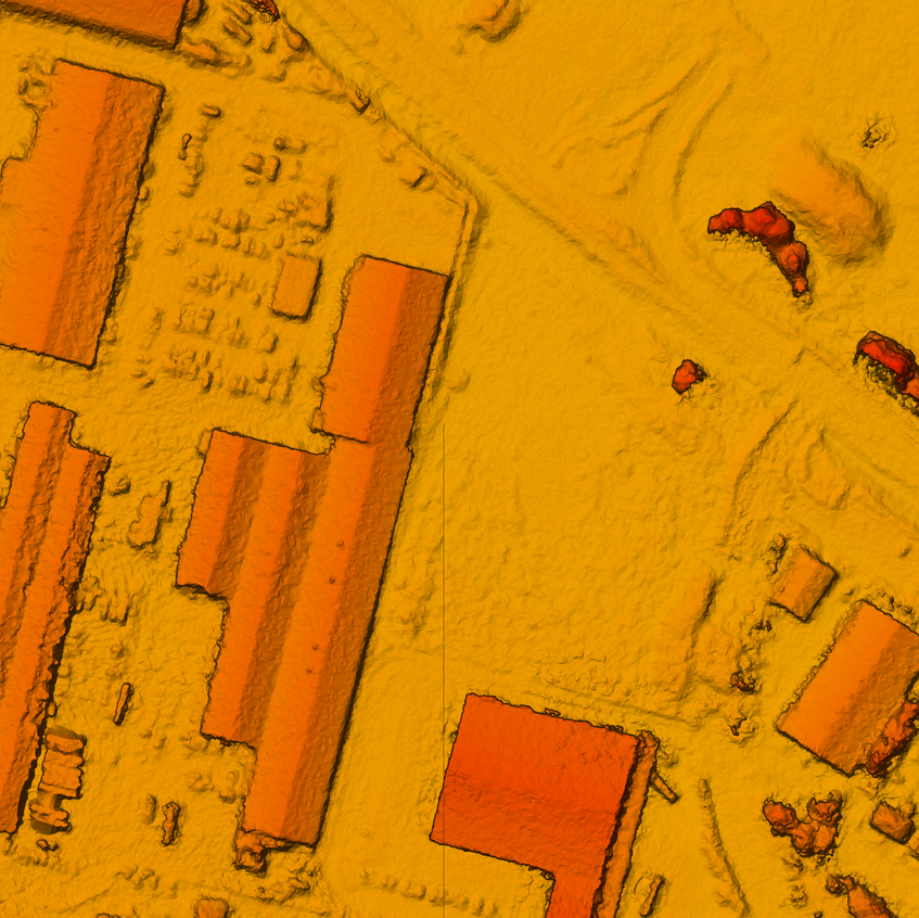 Team UAV Digital Surface Model