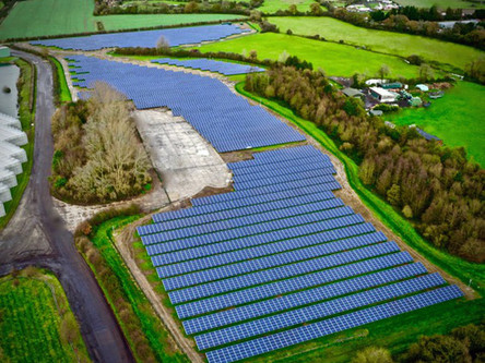 Carillion PLC & Team UAV Partner for UK's First Local Authority Owned Solar Park Inspection
