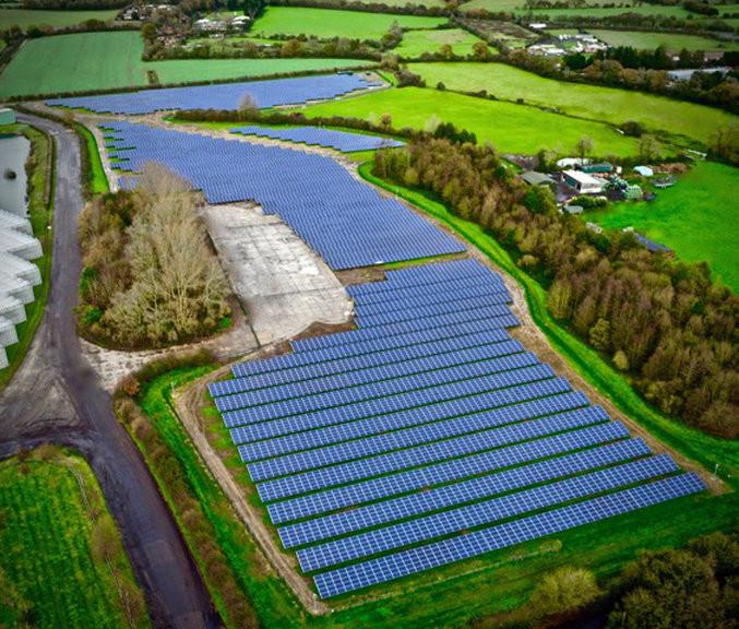 Solar Panel Drone Inspection