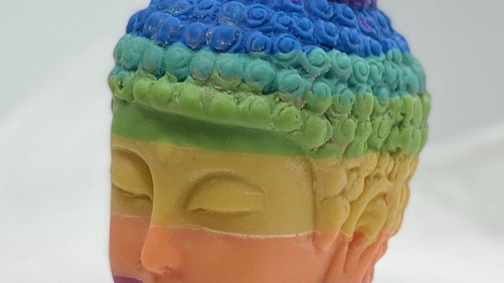 Chakra Buddha Candle