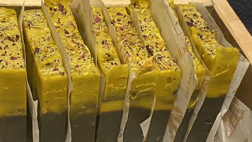 2 Bars Of Healing Garden Soap