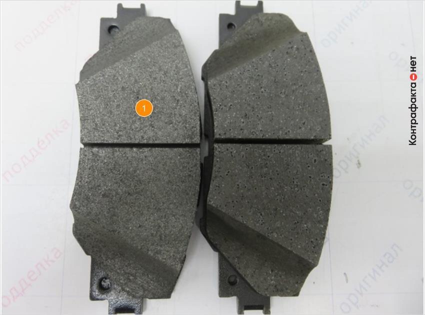 Сравнение фрикционного материала тормозных колодок