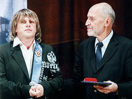 Алексей Глызин награжден орденом «Меценат»
