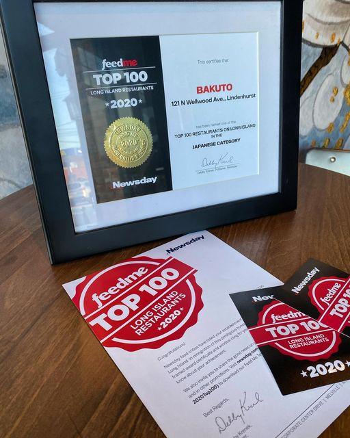 Bakuto Gets Top Award