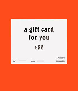 online gifctard cooremetershuys 50 euro.