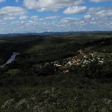 Povoado de Cemitério do Peixe, vista panorâmica