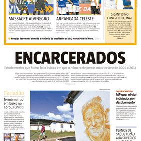 Jornal Estado de MInas. Belo Horizonte-MG. 04/06/2015.