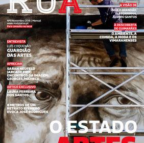 Revista Rua nº 9. Braga, Portugal. 06/11/2016