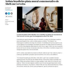 Jornal de notícias. Porto, Portugal. 21/04/2019.