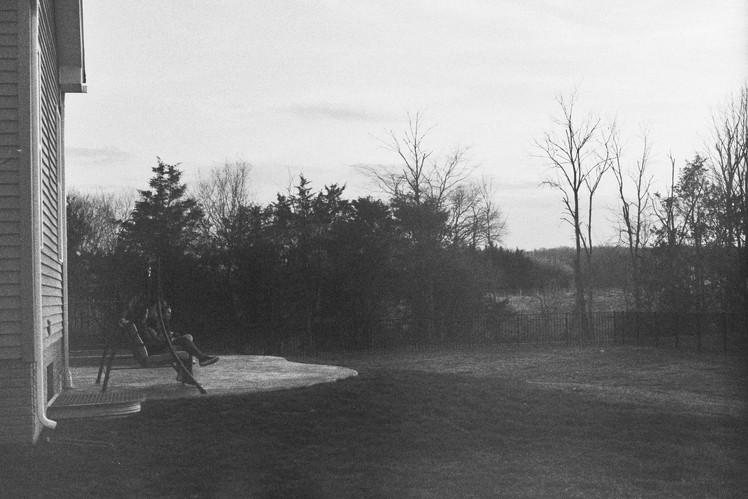 The Backyard, March 2020