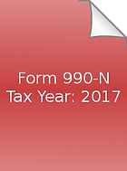 2017 Form 990-N icon.png