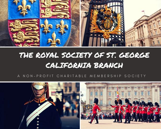 Royal Society of St. George California Branch-A Non-Profit Charitable Membership Society
