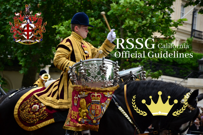 RSSG Official Guidelines to our Events.