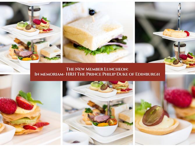 "The ""New Members' Luncheon: In Memoriam- HRH The Prince Philip Duke of Edinburgh"