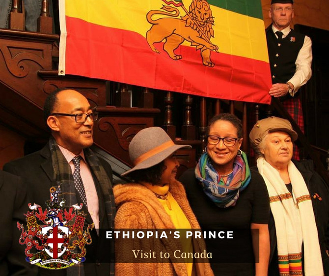 Ethiopia's Prince Ermias Sahleselassie  Visit to Canada