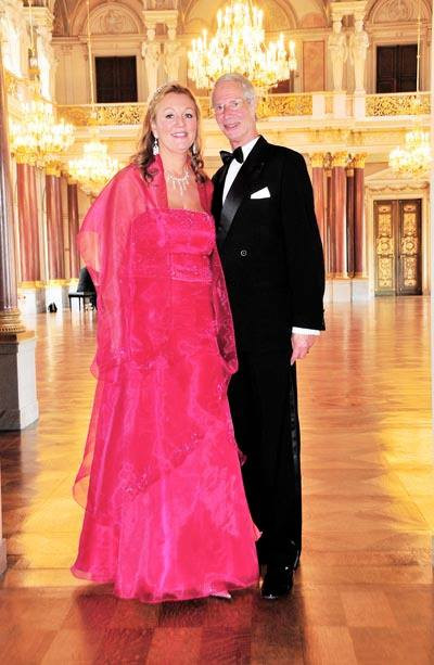 Highnesses Prince Waldemar and Dr. Princess Antonia Schaumburg-Lippe