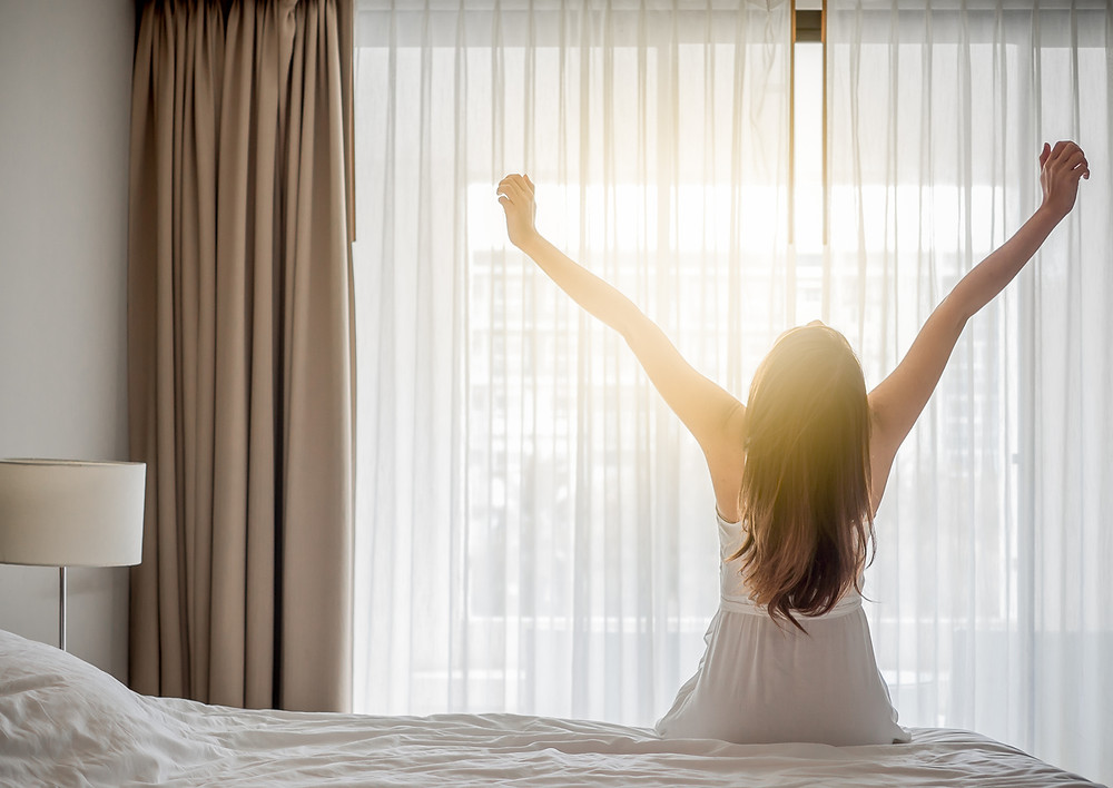 sunshine boosts mood, sunshine helps sleep cycle