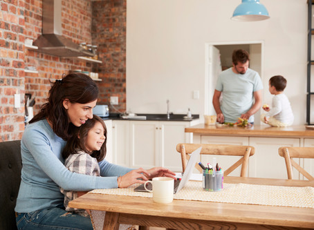 5 Ways to Balance Family Meal Times and Work from Home