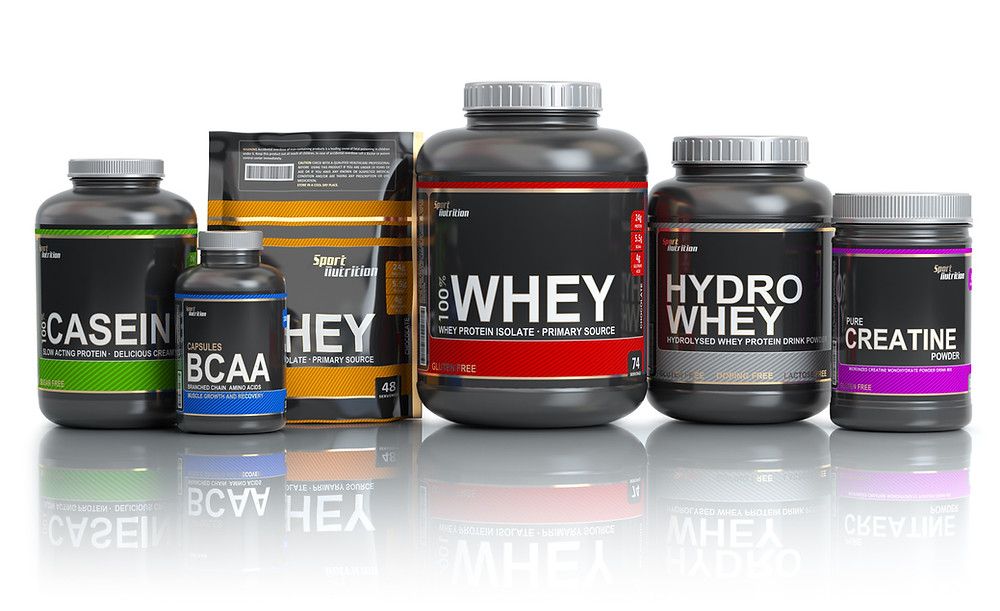 protein supplements, protein powder