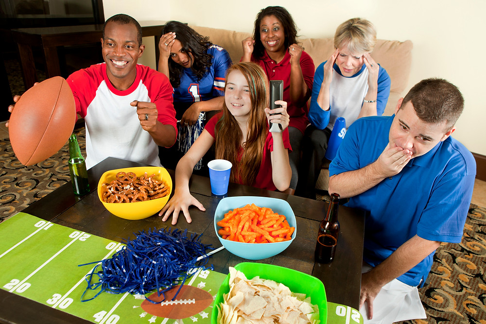 football, game day snacks, party food