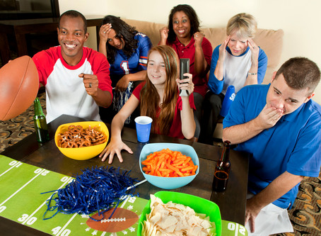 Football Isn't the Only Thing Coming Back: Protect Your Blind Side From Unhealthy Party Snacks